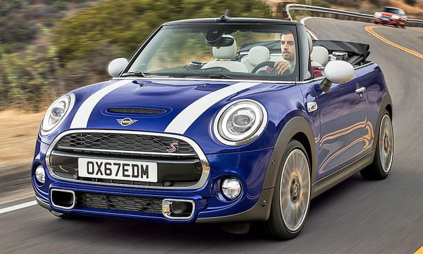 Mini Cooper S Cabrio Facelift (2018)