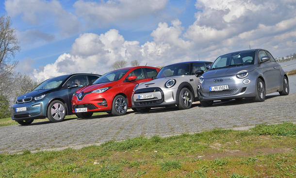 BMW i3/Renault Zoe/Mini Cooper SE/Fiat 500e