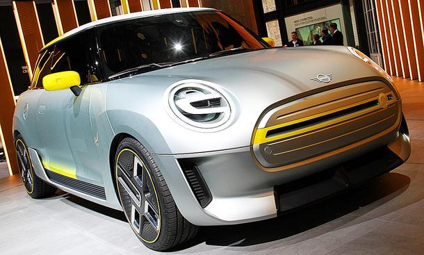 Mini Electric Concept auf IAA