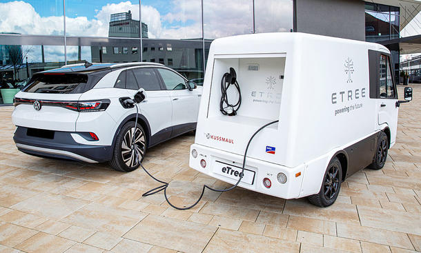 Mobile Ladestation von eTree Mobility