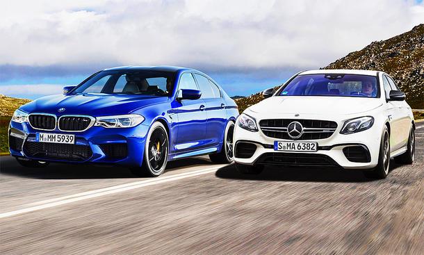 bmw m5/mercedes-amg e 63 s: vergleichstest | autozeitung.de