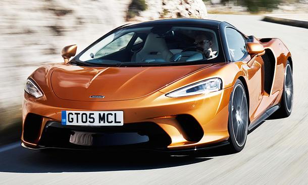 Erste Fahreindrücke vom McLaren GT
