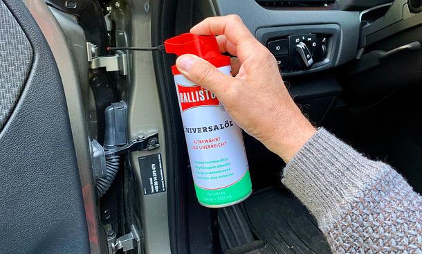 Ölspray/Silikonspray/Schlossspray: Test