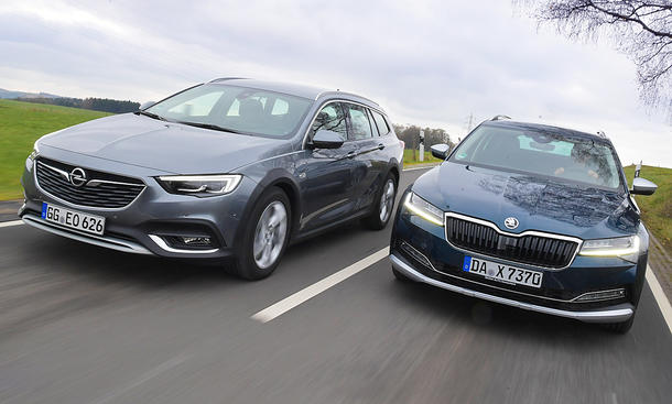 Opel Insignia Country Tourer/Skoda Superb Scout
