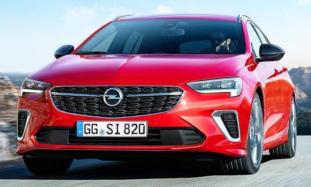 Opel Insignia GSi Sports Tourer Facelift (2020)