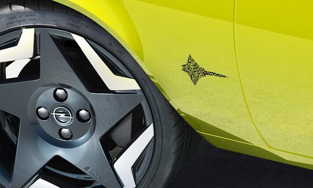 QR-Code als Opel-Modellbezeichnung
