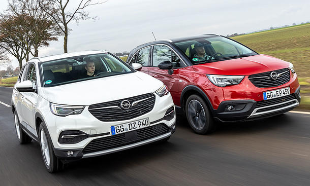 Opel Crossland X/Opel Grandland X
