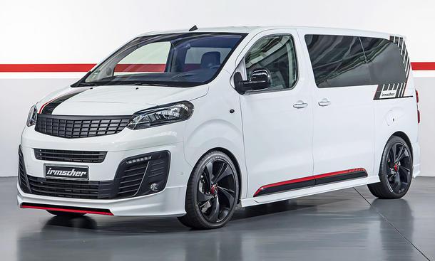 Opel Zafira Life von Irmscher