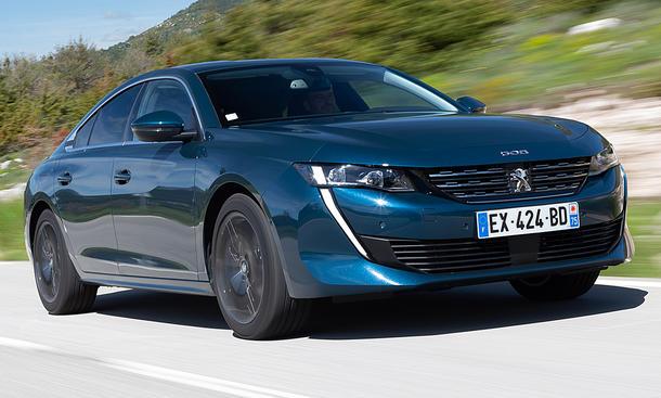 Bestes Design eines Newcomers – Peugeot 508
