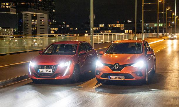 Peugeot 208/Renault Clio
