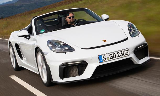 Porsche 718 Boxster Spyder (2019)