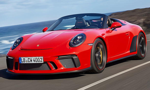 neuer porsche 911 speedster 2019 erste testfahrt. Black Bedroom Furniture Sets. Home Design Ideas