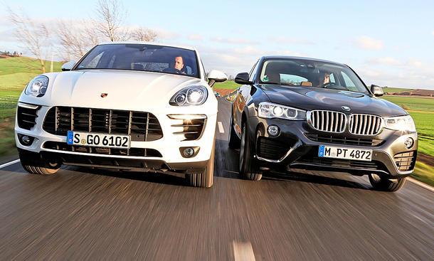 Porsche Macan/BMW X4: Gebrauchtwagen kaufen