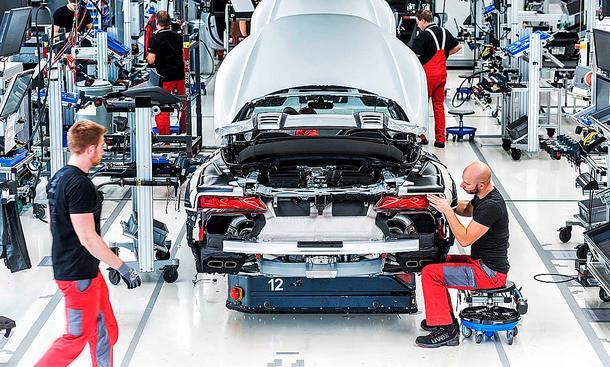 Arbeitsplätze in der Autoindustrie