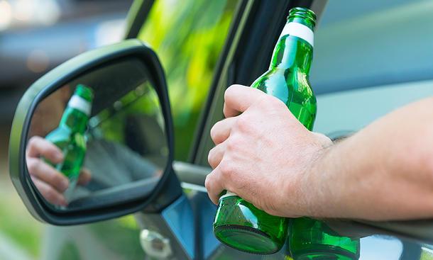 Promillegrenze: Alkohol am Steuer (Strafen)