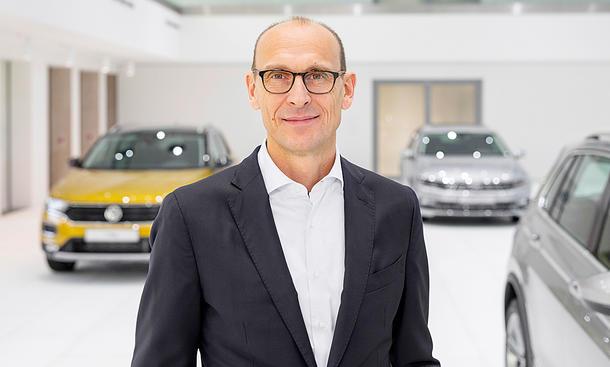 VW-Markenchef Ralf Brandstätter
