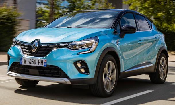 Renault Captur E-Tech Plug-in 160 (2020)