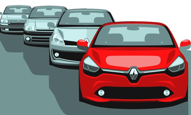 Renault Clio I-IV