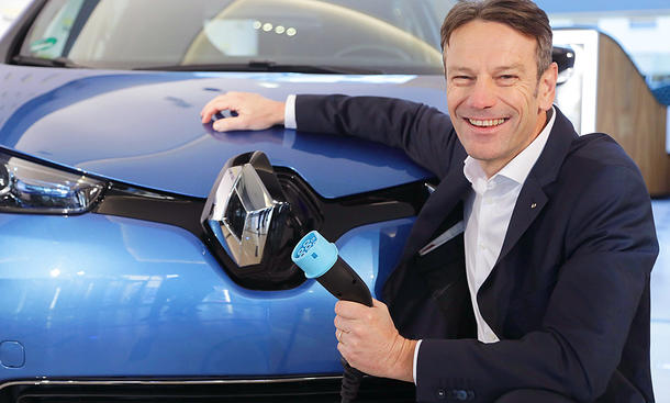 Renault Deutschland-Chef Uwe Hochgeschurtz