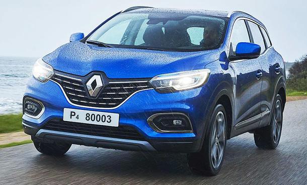 Neuer Renault Kadjar Facelift (2019)
