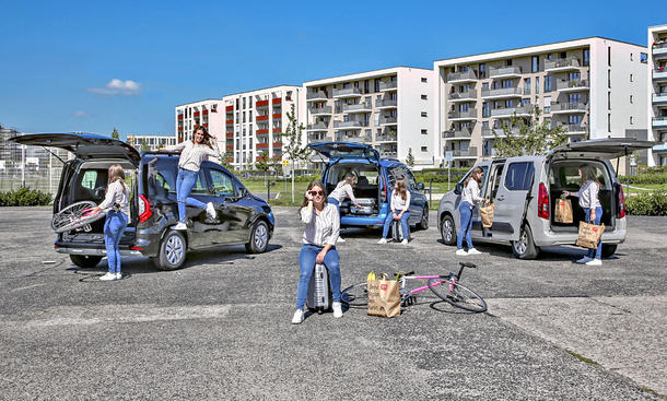 Renault Kangoo/VW Caddy/Opel Combo Life