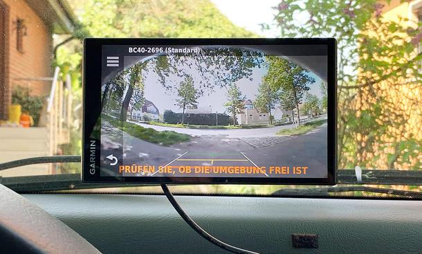 Rückfahrkamera nachrüsten: Test