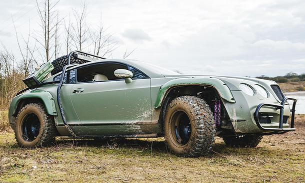 "Bentley Continental GT ""Rallye Edition"""