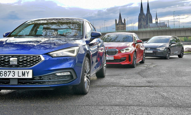 Seat Leon 1.0 eTSI/BMW 116i/VW Golf 1.0 eTSI