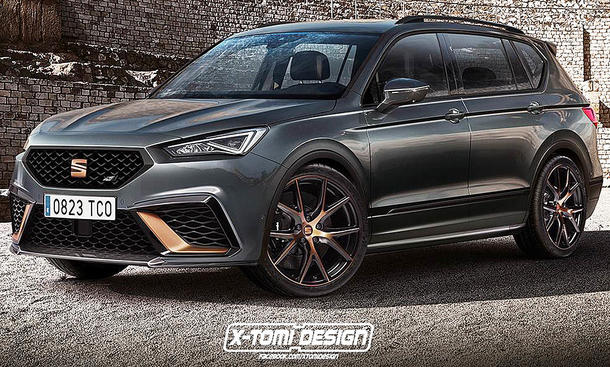 Cupra Tarraco: Illustration