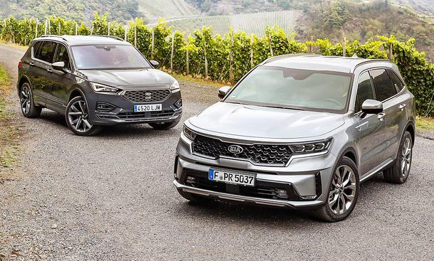 Seat Tarraco 2.0 TDI 4Drive/Kia Sorento 2.2 CRDi AWD