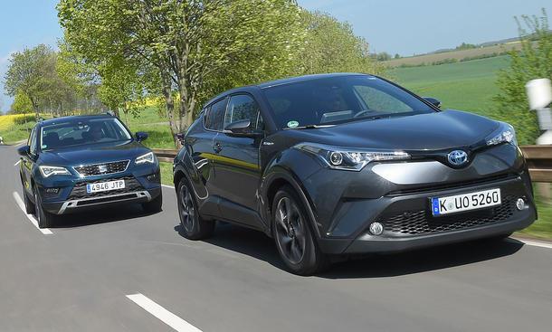 Seat Ateca/Toyota C-HR: Gebrauchtwagen kaufen