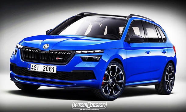 Skoda Kamiq RS: Illustration