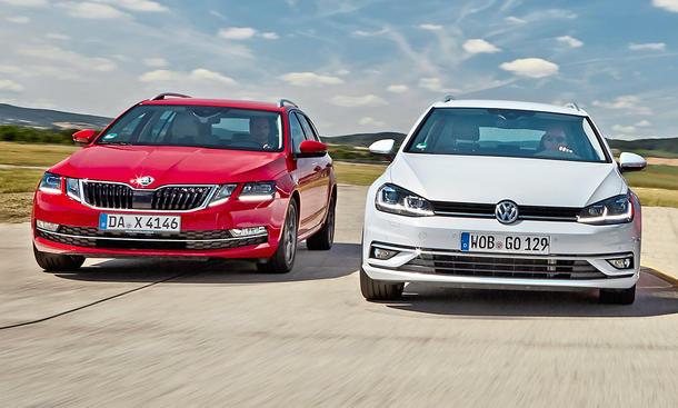 Skoda Octavia Combi/VW Golf Variant: Gebrauchtwagen kaufen