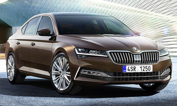 Skoda Superb Limousine Facelift (2019)