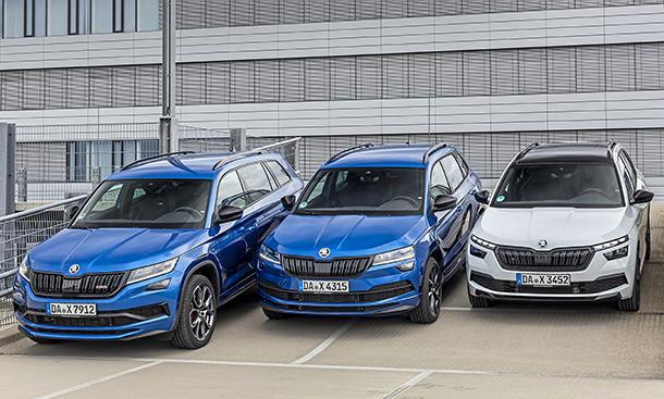Skoda SUV-Familie
