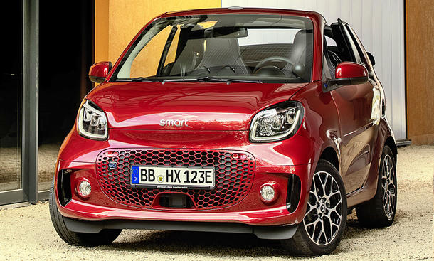 Smart EQ Fortwo Cabrio Facelift (2019)