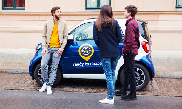 Ready to Share: Privates Carsharing von Smart