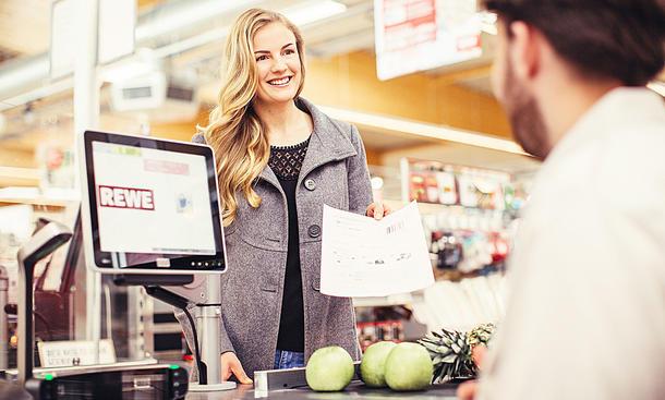 Falschparker: Strafzettel im Supermarkt bezahlen