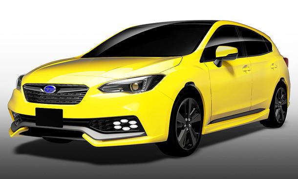 Subaru Impreza Future Sport Concept (2017)