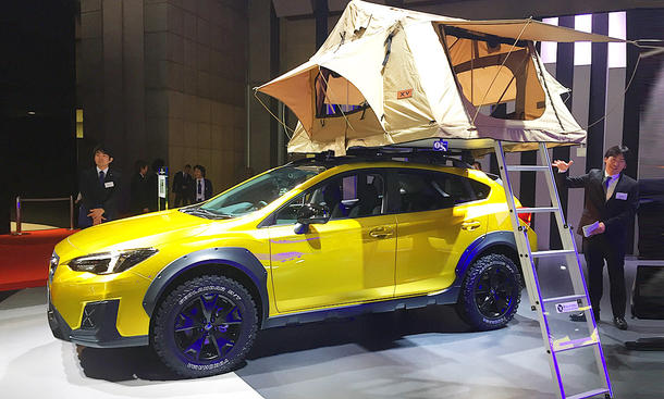 Subaru XV Fun Adventure Concept (2017)