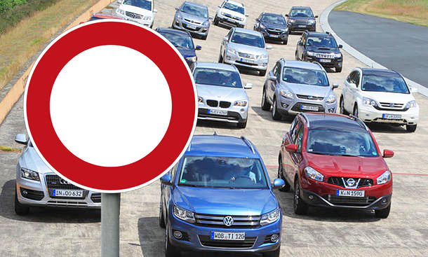 Debatte um SUV in Innenstädten