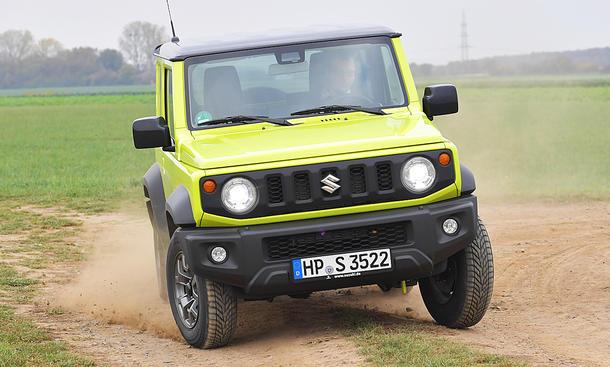 Suzuki Jimny: Test