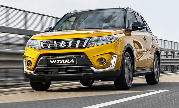suzuki vitara facelift 2018 motor update. Black Bedroom Furniture Sets. Home Design Ideas