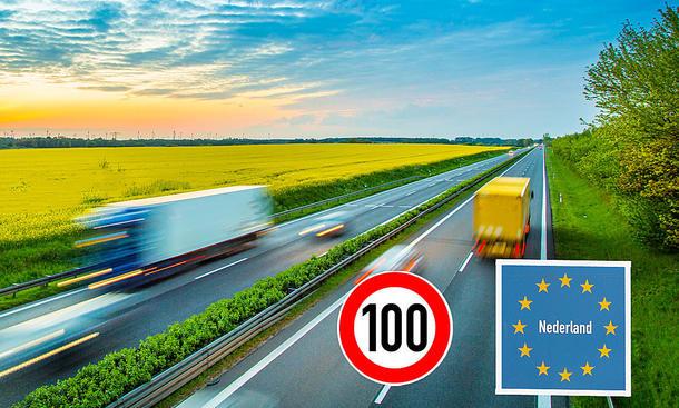 Niederlande: Tempolimit von 100 km/h auf Autobahnen