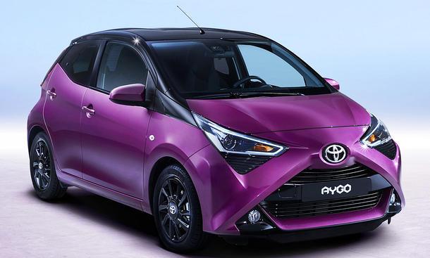 Toyota Aygo Facelift (2018)