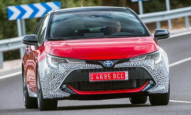 Neuer Toyota Corolla 2019 Erste Testfahrt Autozeitung De