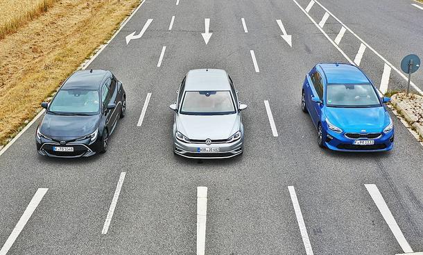 Toyota Corolla/VW Golf/Kia Ceed