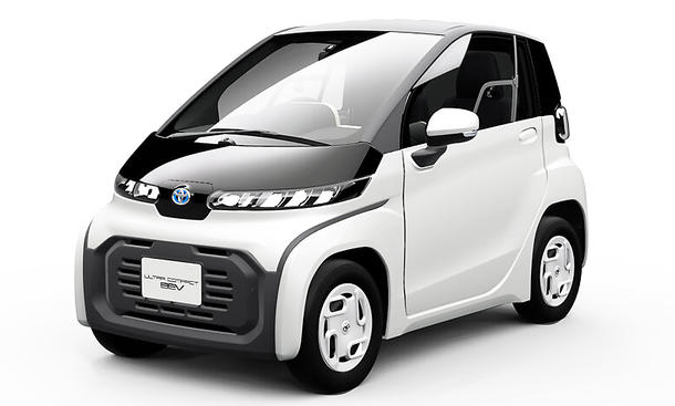 Toyotas E-Flitzer für Japans Städte