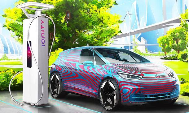 E-Autos: VW baut Ladesäulen in Europa