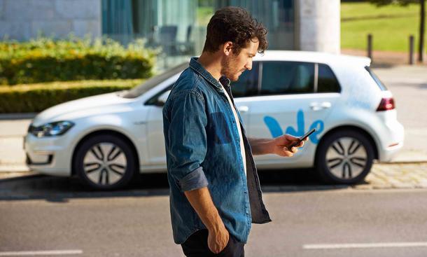 We Share: Carsharing-Angebot von Volkswagen